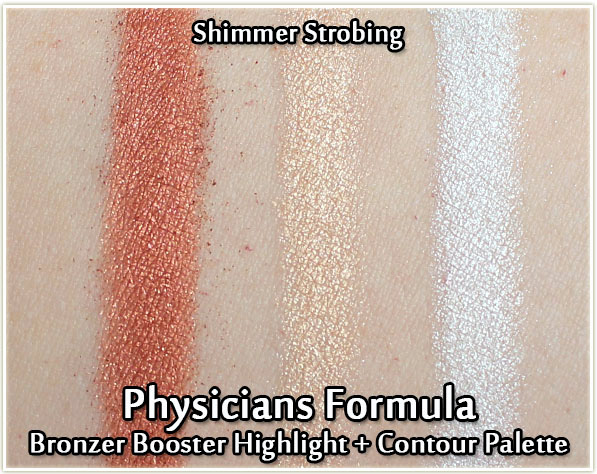Physicians Formula Bronze Booster Highlight & Contour Palette - Shimmer Strobing - swatches