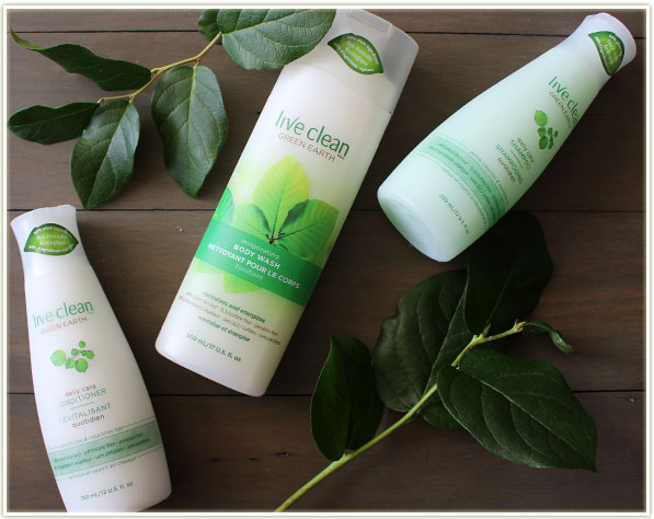 Live Clean Green Earth products