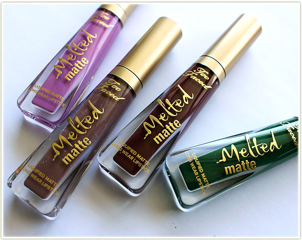 Too Faced Melted Mattes for Summer 2017