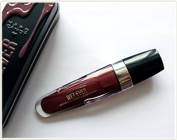 Hard Candy Wet Ever Bold Hold Lip Lacquer in Temptress