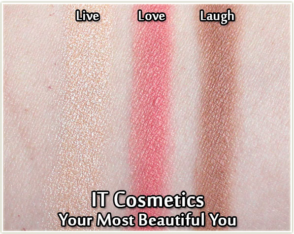 IT Cosmetics - Your Most Beautiful You - swatches