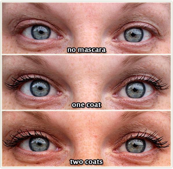 Revlon Mega Multiplier Mascara - comparison