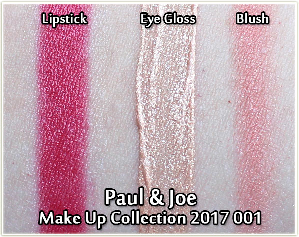 Paul & Joe Beauté Make Up Collection 2017 - swatches