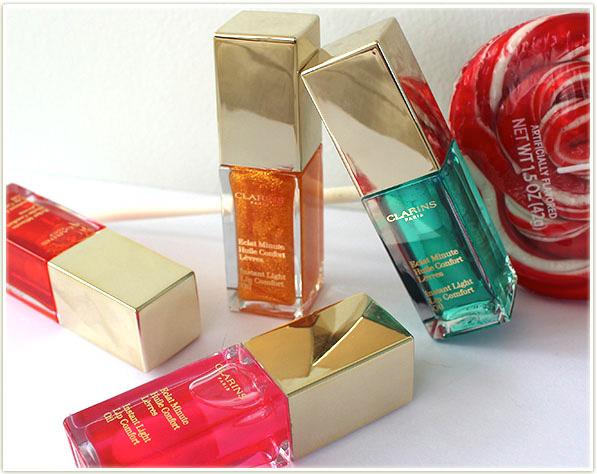 Clarins Instant Light Lip Comfort Oils