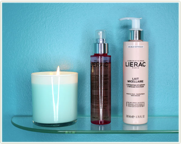Lierac Laboratories - Morning Moisturizing Mist and Lait Micellaire