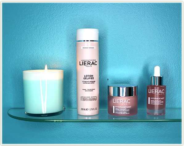 Lierac Laboratories - Lotion Gélifiée, Hydragenist Moisturizing Cream and Moisturizing Serum