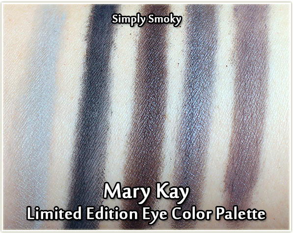 Mary Kay Fall 2017 Color Collection - eyeshadow quint in Simply Smoky