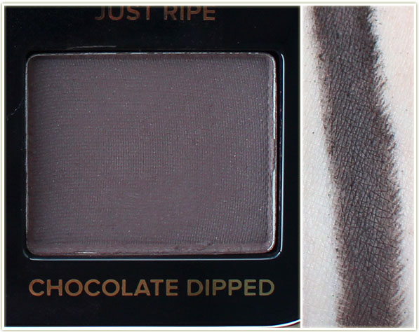 Too Faced Just Peachy Mattes - Chocolate Dipped