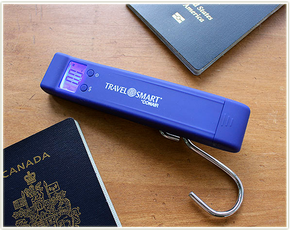 Conair Compact Luggage Scale