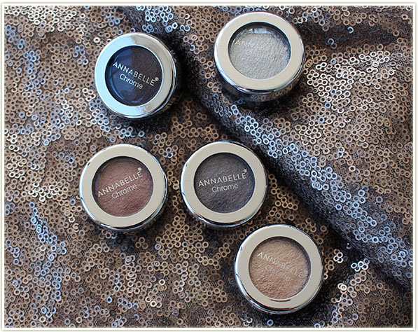 Annabelle Chrome Eye Shadows