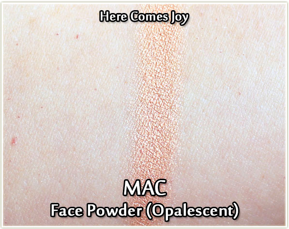 MAC - Here Comes Joy - swatch