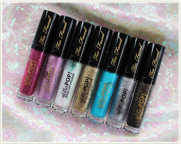 Too Faced Glitter Pop! Peel-Off Eyeliners