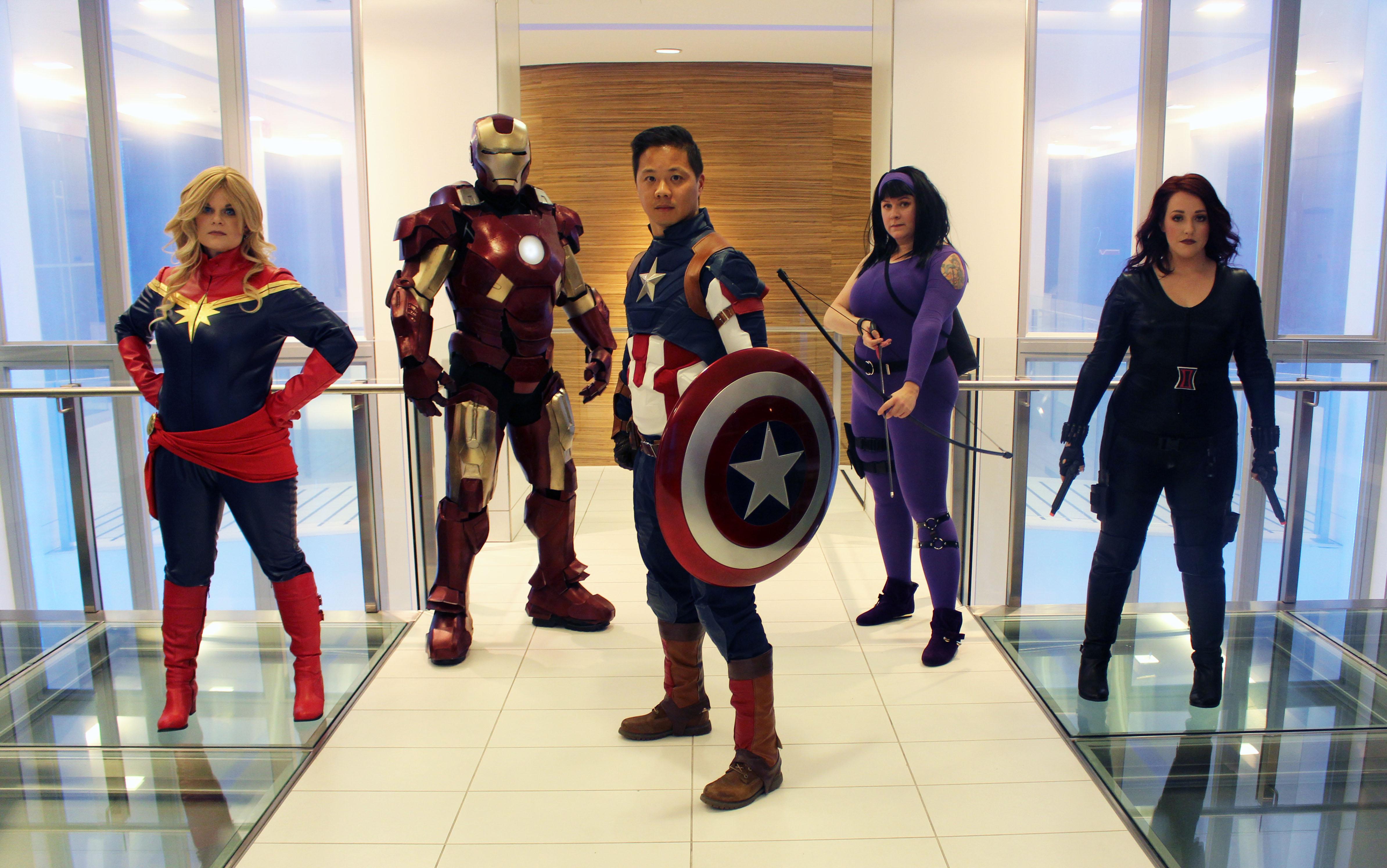 The Avengers: Halloween 2017: The Avengers