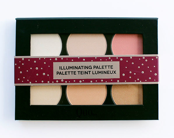 QUO Holiday 2017 Illuminating Palette