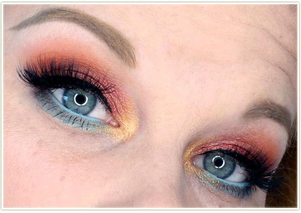 Wet n Wild - Not A Basic Peach - eye look