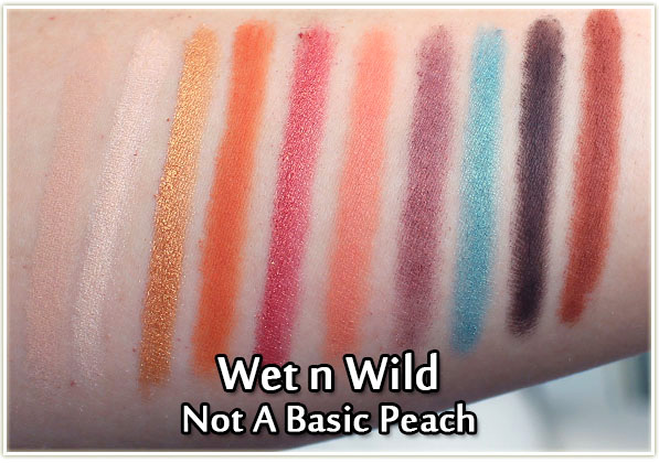 Wet n Wild - Not A Basic Peach - swatches
