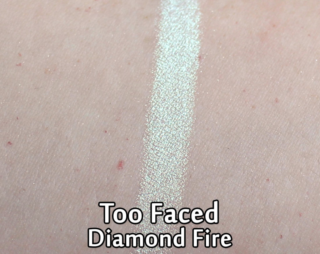 Too Faced Diamond Light Multi-Use Highlighter in Diamond Fire - swatch