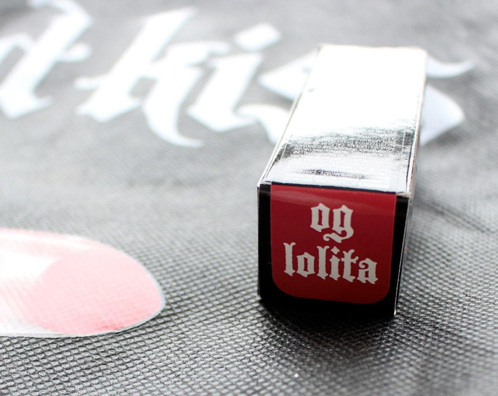 Kat Von D Star Studded Kiss Crème Lipstick in OG Lolita