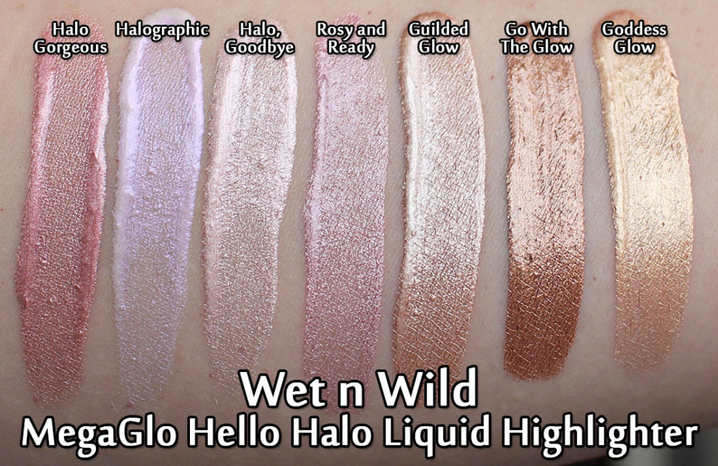 Wet n Wild MegaGlo Hello Halo Liquid Highlighters
