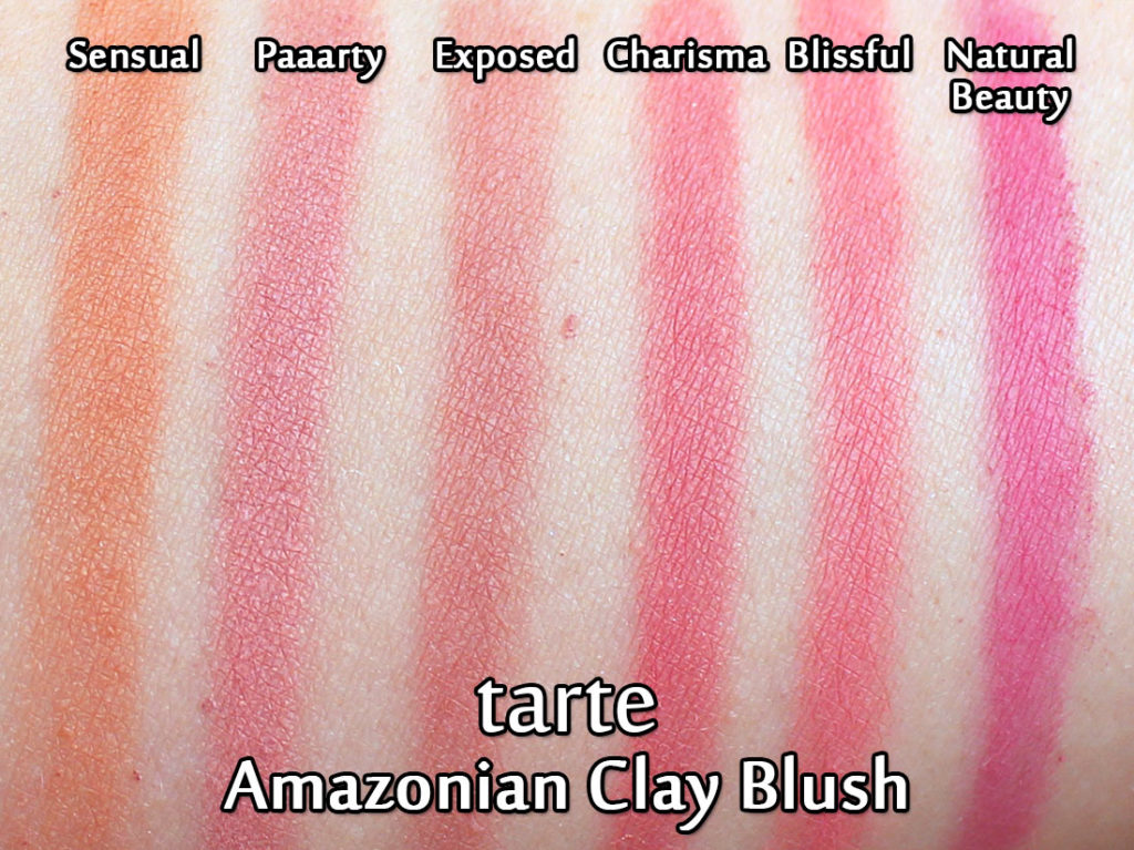Tarte Amazonian Clay Blush Natural Beauty Swatch