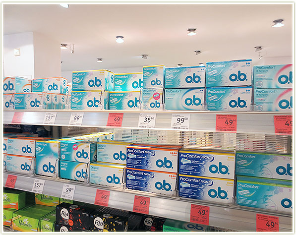 ob silk ease tampons