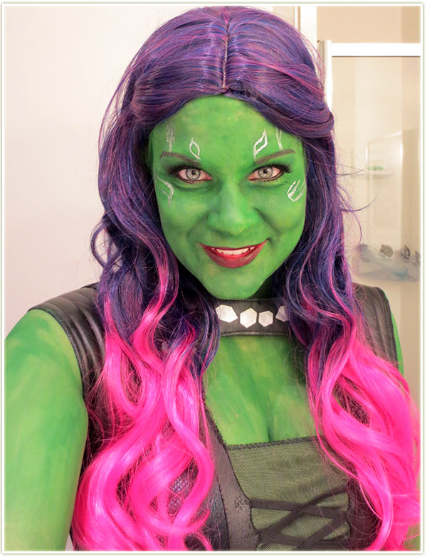 Halloween 2014 Part 2 Guardians Of The Galaxy Makeup Your Mind