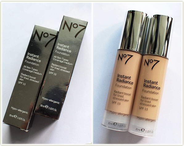 No7 instant radiance foundation ingredients