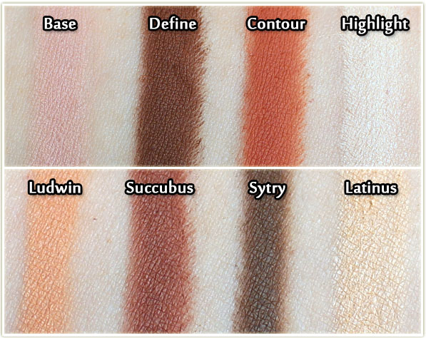 Kat Von D Shade Light Quad In Rust Review Swatches