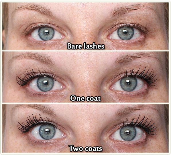 a71f8cf9e46 Too Faced Better Than Sex Waterproof Mascara - nothing on lashes, one coat  and two