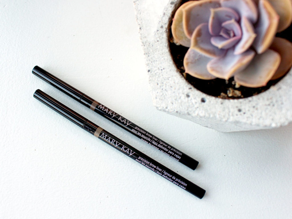 51db1ab5e64 Mary Kay Precision Brow Liners (Review & Swatches) - Makeup Your Mind