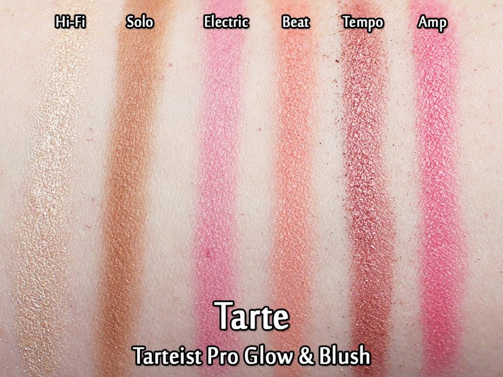 Tarte Tarteist Pro Glow Highlight Blush Review Swatches
